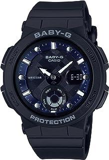 [カシオ] 腕時計 ベビージー BEACH TRAVELER BGA-250-1AJF レディース ブラック