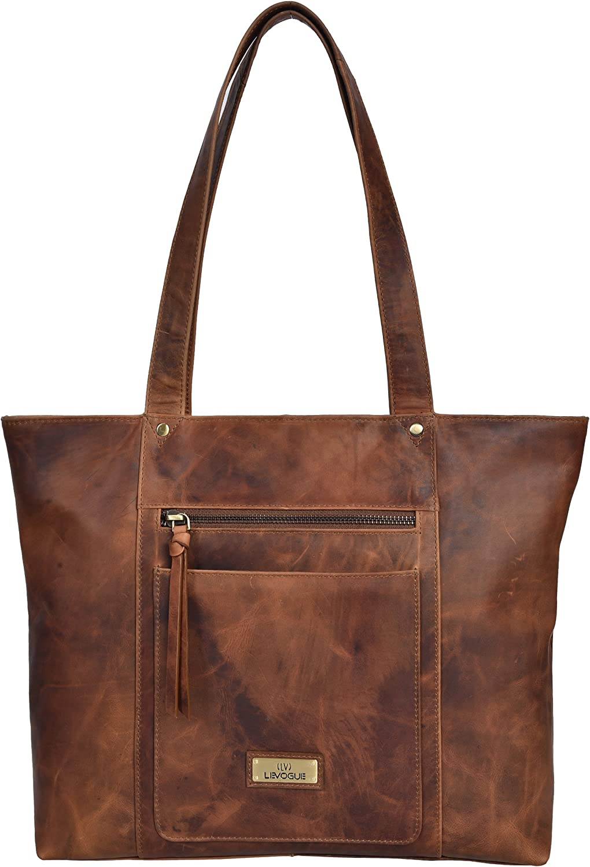 Genuine Leather Shoulder Handbag for Women  Tote Womens Handbag for Travel,Work,College