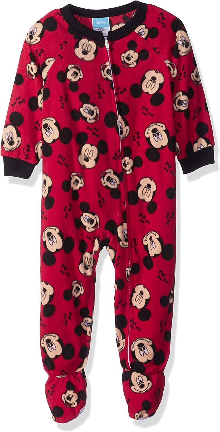 Mickey and Pluto Best Friends Forever Fleece Footed Pajama Sleeper