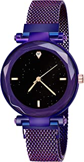 DAINTY Analog Magnet Series Black Dial Girl's and Women's Watch