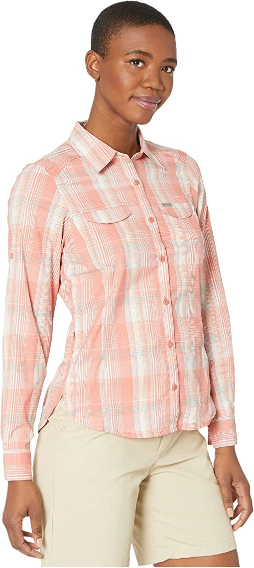 Dark Coral Medium Multi Plaid