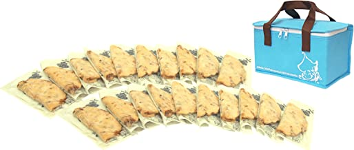 ≪公式≫【阪神名物いか焼き】冷凍いか焼きセット(20枚入り) 水色