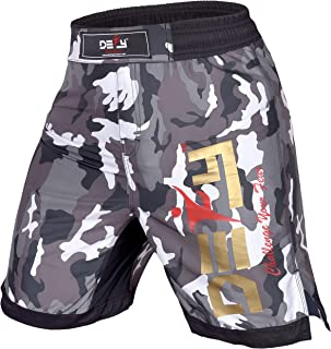 DEFY Premium MMA Fight Shorts Clothing UFC Cage Kickboxing Fighting Grappling Martial Arts Muay Thai Training Camouflage