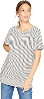 organic cotton striped t shirt