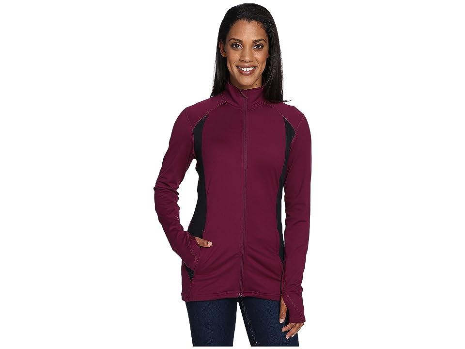 Hot Chillys MTF Flex Jacket (Viola/Black) Women's Coat