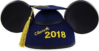 Disney Parks 2018 Mickey Ears Graduation Hat