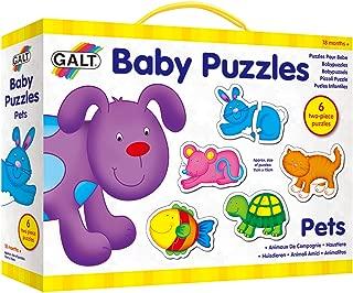 Galt Baby Puzzles - Pets - 2pcs