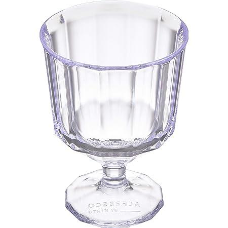 KINTO (キントー) ワイングラス クリア 250ml ALFRESCO (アルフレスコ) 20736 φ85×h115mm