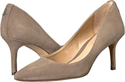 Light Taupe Kid Suede