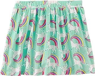 Carter's Toddler/Little Girl's Unicorn Jersey Skort/Skirt Skooter 2T