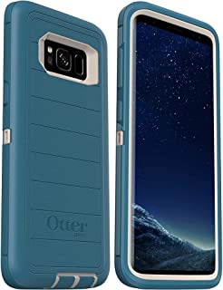 OtterBox Defender Series Rugged Case for Samsung Galaxy S8 - Case Only - Bulk Packaging - Big Sur (with Microbial Defense)