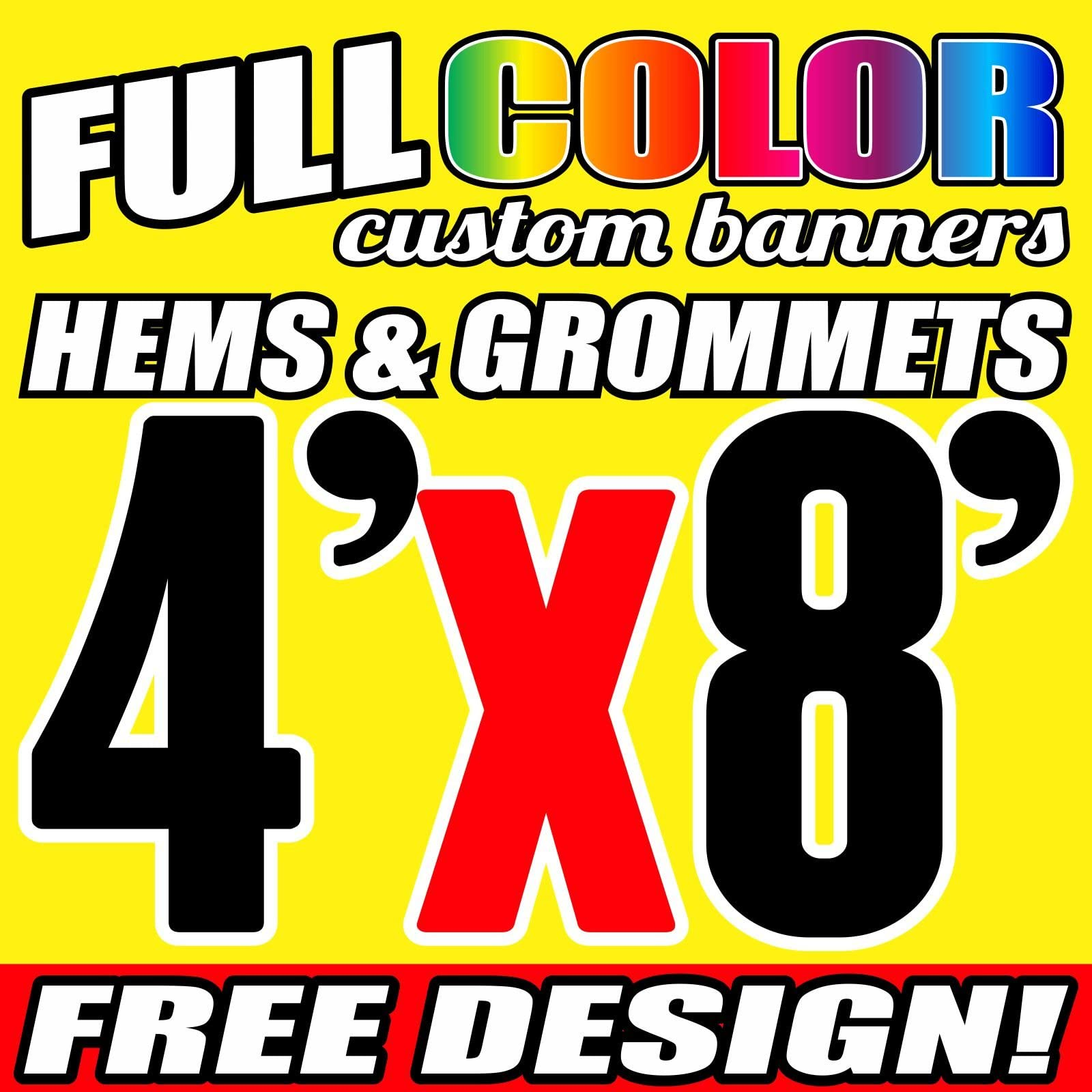 WE BUY NEW /& USED ELECTRONICS BANNER VARIOUS SIZES VINYL BANNERS 4 X 8