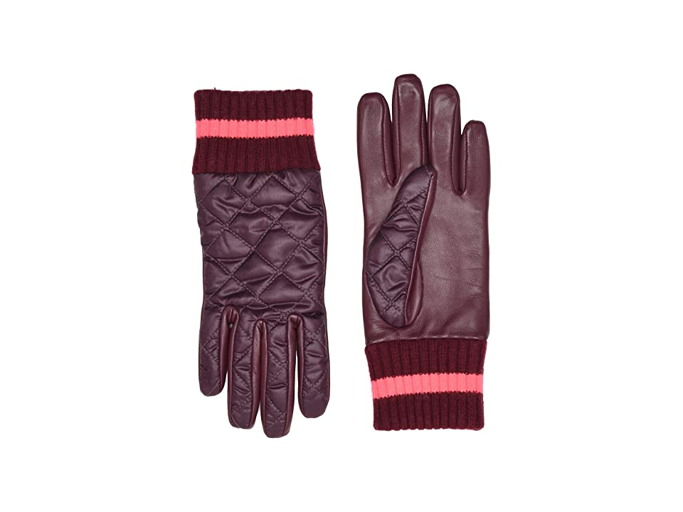 UGG Varsity All Weather Water Resistant Tech Gloves (Port Multi) Extreme Cold Weather Gloves