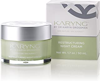 Restructuring Night Cream by KARYNG - Sensitive Skin Care Night Moisturizer with Natural Ingredients and Pro-Verte Technology – Visibly Reduces the Appearance of Lines & Wrinkles - Paraben Free - 1.7