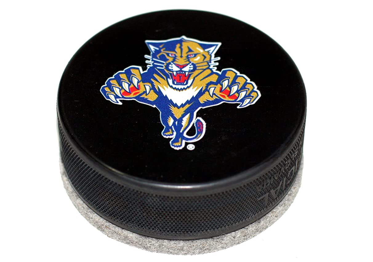 EBINGERS PLACE Florida Panthers Throwback Logo Basic Series Hockey Puck Board Eraser for Chalk Boards and Whiteboards