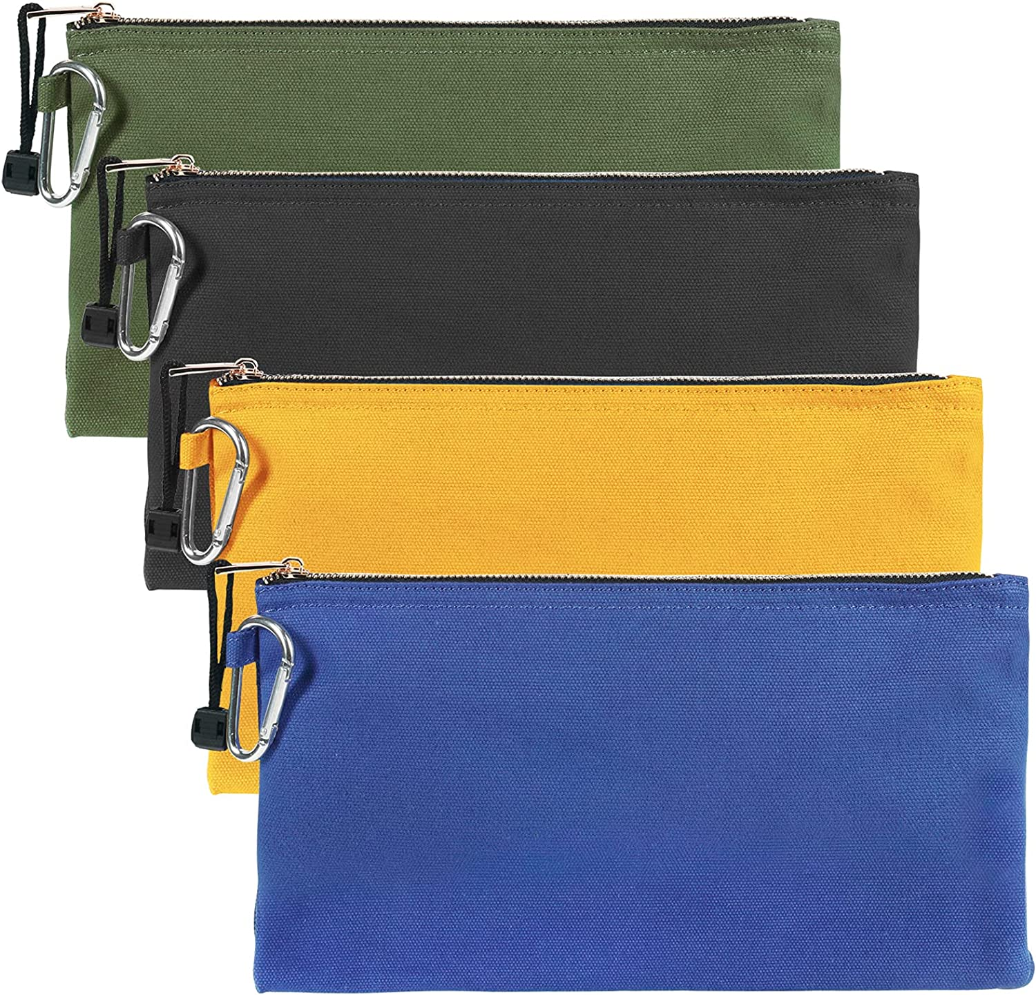 JOINDO Tool Pouch Heavy Nashville-Davidson Mall Duty Canvas Tools Philadelphia Mall with Zippe Smooth Bag