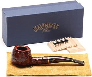 Savinelli Alligator Brown 315 Tobacco Pipe