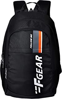 F Gear Circadian Guc Black 27 Ltrs Casual Backpack (3330)