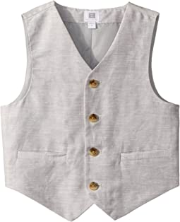 Janie and Jack Linen Vest (Toddler/Little Kids/Big Kids)