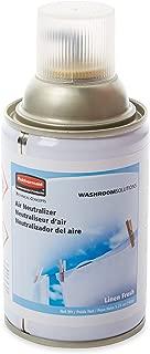Rubbermaid Commercial Standard Aerosol Air Freshener Refill, Linen Fresh, FG4009831