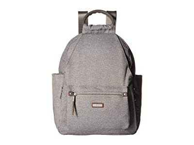 Baggallini New Classic Heritage All Day Backpack with RFID Phone Wristlet (Stone) Backpack Bags