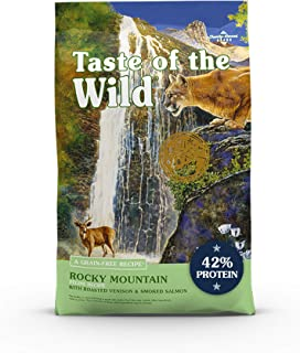 Taste of the Wild High Protein Real Meat Recipes Premium Dry Cat Food with Superfoods and Nutrients Like Probiotics, Vitam...