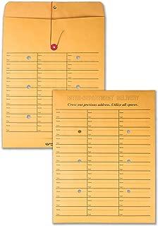 Quality Park, Interoffice Envelopes, String-Tie Box, Brown Kraft, 10x13, 100 per Box (63562)