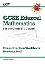 GCSE Maths Edexcel Exam Practice Workbook: Foundation - for