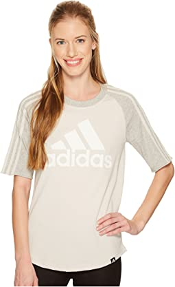 adidas Badge of Sport Baseball Tee