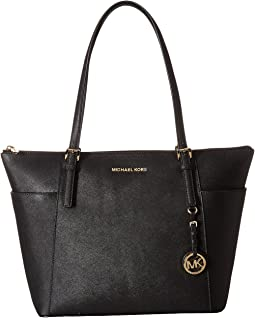 MICHAEL Michael Kors Jet Set Item Large East/West Top-Zip Tote