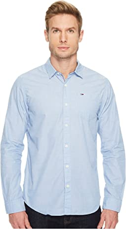 Tommy Jeans - Original End On End Long Sleeve Shirt
