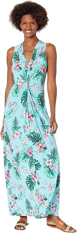 Fanning Floral Maxi Dress
