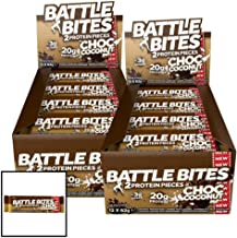 Battle Bites Chocolate Coconut Protein Pieces 24 x 62g Estimated Price : £ 48,75