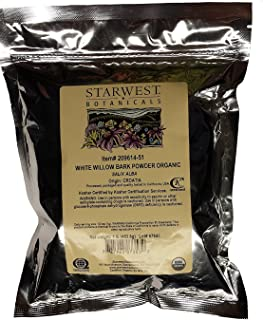 White Willow Bark Powder Organic 1 Lb (453 gm)