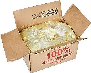 African Shea Butter 25lb 100% Natural Raw Bulk Organic - From Ghana