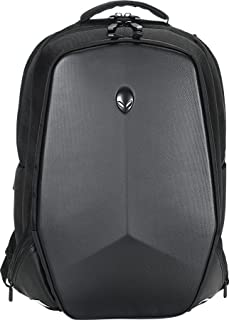 Alienware Vindicator Gaming Laptop Backpack, 18-Inch, Black/Silver (AWVBP18)