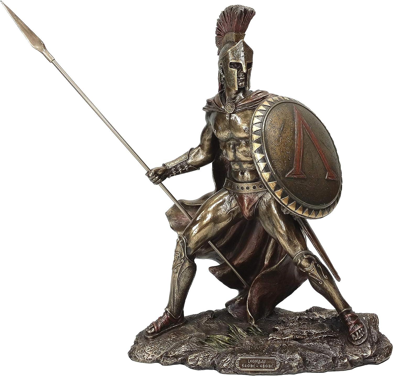 Popular popular UNICORN STUDIO Greek Military King Leonidas Ranking TOP11 Finish Bronze Statue