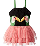 Stella McCartney Kids - Toucan Patch Dress with Detachable Wings (Toddler/Little Kids/Big Kids)
