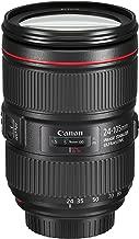 Canon 1380C002-cr EF 24? 105mm f/4L is II USM Lens (Renewed), Black