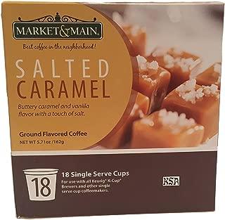 Market & Main Salted Caramel 18 Single Serve Coffee Cups