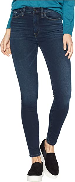 Barbara Ankle High-Waist Skinny Jeans in Down N Out
