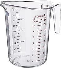 Update International (MEA-200PC) 2 Quart Plastic Measuring Cup