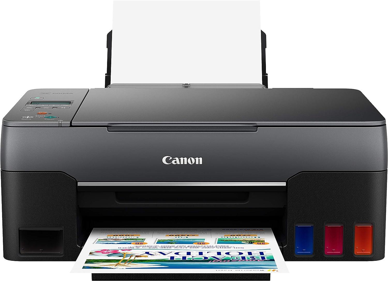 Canon PIXMA G1220 Single Function MegaTank Inkjet Printer, Print Only, Black, (4469C002)