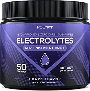 Electrolytes Powder | Sugar Free Electrolyte Replacement Supplement for Hydration | Keto Approved Electrolytes & Minerals ...
