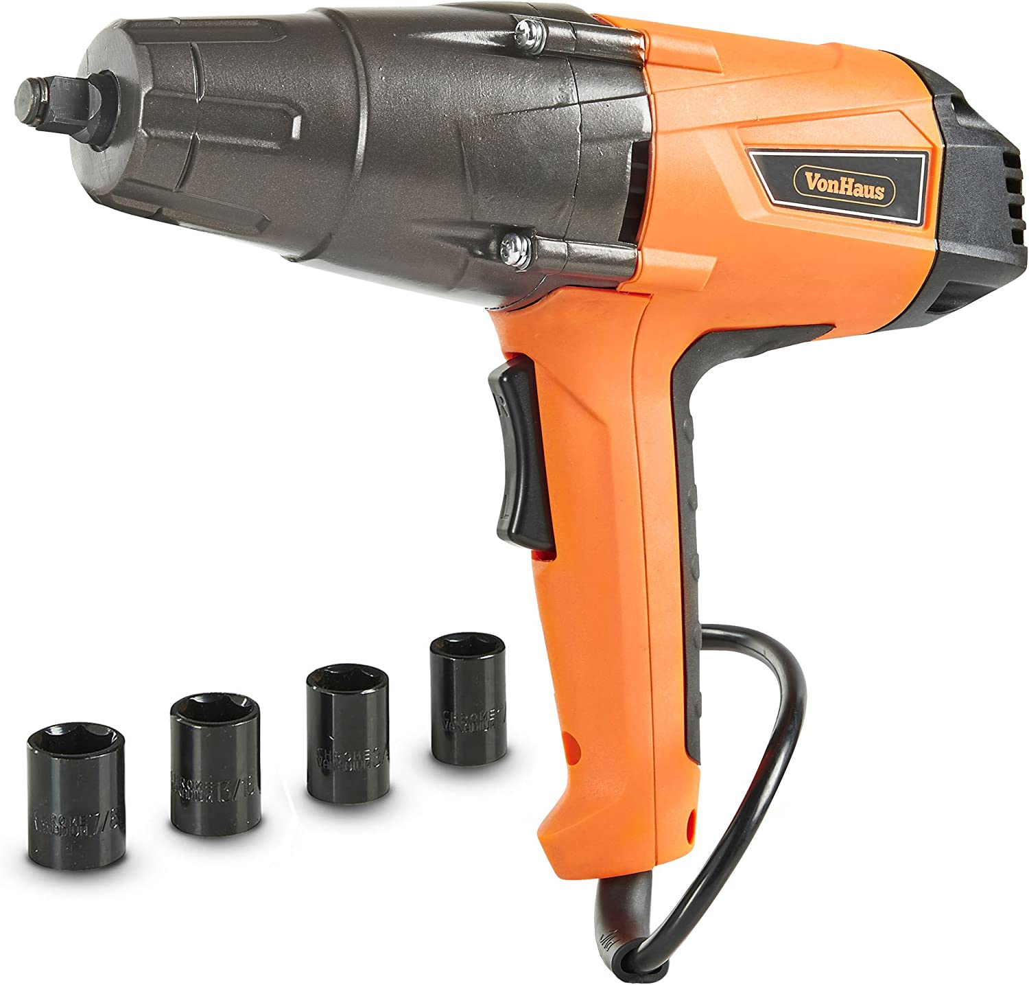 VonHaus 15/194US 1/2-In Corded Impact Wrench