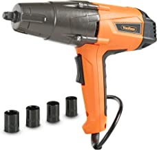 VonHaus Impact Wrench Set, 1/2-inch Drive with Hog Ring Anvil and Carry Case - 260ft-lbs Torque - 8.5 Amp