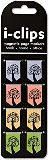 Tree of Life i-clips Magnetic Page Markers (Set of 8 Magnetic Bookmarks)