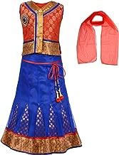 Aarika Girl'S Self Design Party Wear Lehenga Choli Set