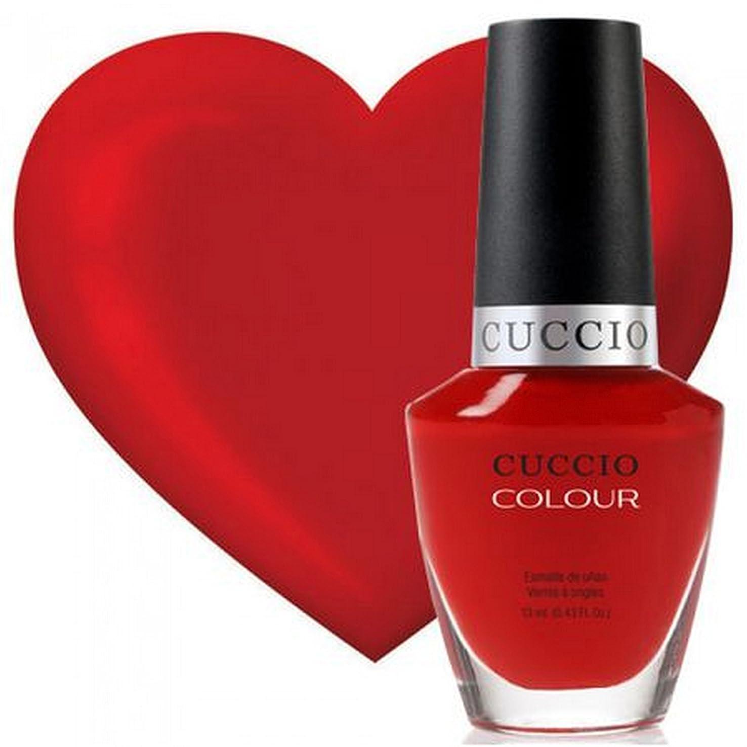ハチティーンエイジャー突破口Cuccio Colour Gloss Lacquer - A Pisa My Heart - 0.43oz / 13ml