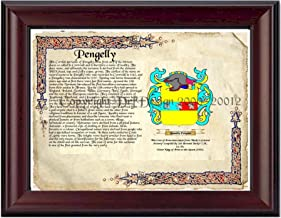Pengelly Coat of Arms/ Family Crest on Fine Paper and Family History